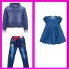 Джинсовая одежда для девочек