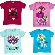 Детская футболка с рисунком 9-12 лет,  в ассортименте