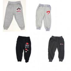 Детские спортивные брюки. для девочек в ассортименте 2-4 года