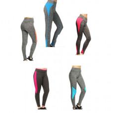 Женские спортивные леггинсы, цвета в ассортименте