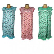 """Женская ночная сорочка """"Роза""""  цвета в ассортименте"""