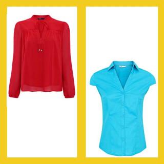 Женские блузки и рубашки оптом (2)