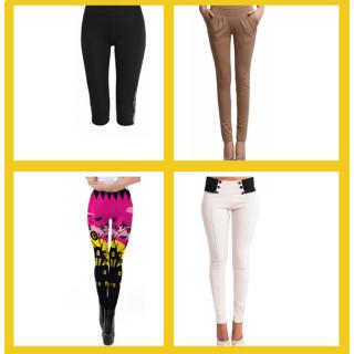 Женские брюки, леггинсы и лосины оптом
