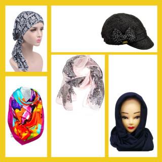 Женские головные уборы, платки и палантины оптом (5)