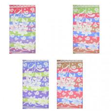 """Полотенце махровое """"Лилии"""" 70х140 цвета в ассортименте"""