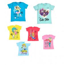 Детская футболка с рисунком от 2-6 лет,  в ассортименте