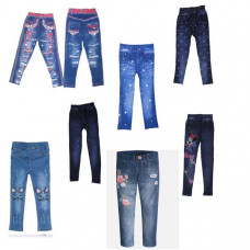 Лосины под джинс 8-14 лет