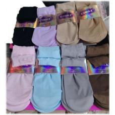Носки капроновые, цветные