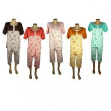 """Женская пижама """"Роза"""" цвета в ассортименте"""