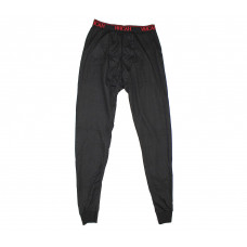 Термобелье, мужские брюки. Черные