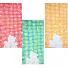 """Полотенце махровое """"Мишки, буквы"""" 70х140 цвета в ассортименте"""