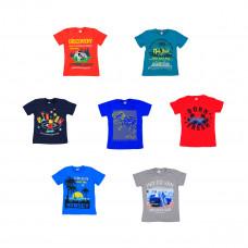 Детская футболка с рисунком 5-8 лет,  в ассортименте